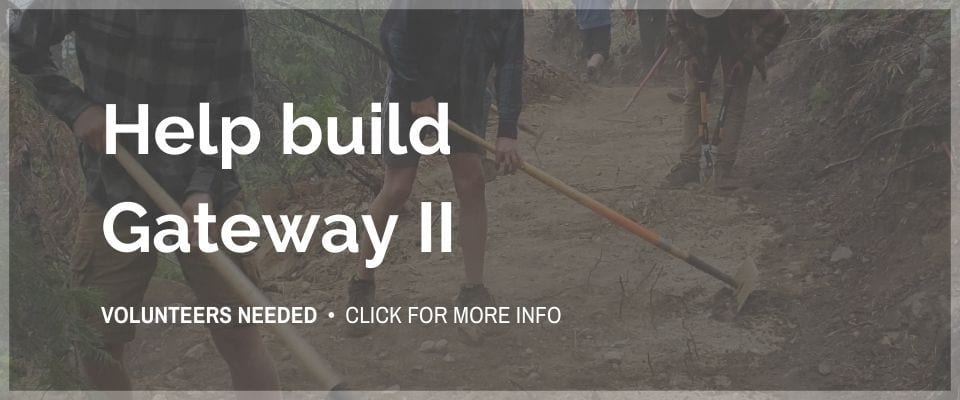 Volunteers needed to help with Gateway Two - Click for more info
