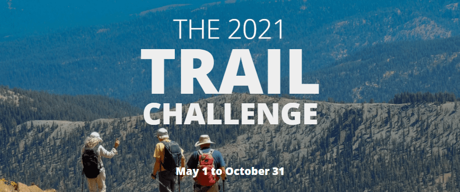 2021 Trail Challenge - May 1 to October 31